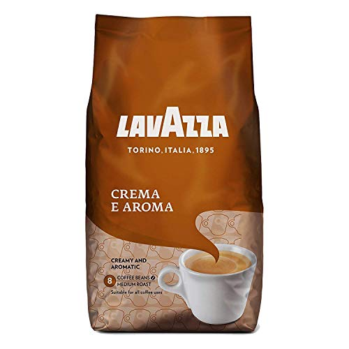 Lavazza Crema Aroma (Brown) Coffee Beans 1kg (2 Bags) from Lavazza