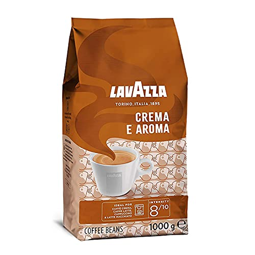 Lavazza Crema e Aroma, Arabica and Robusta Medium Roast Coffee Beans, Pack of 1 kg from Lavazza