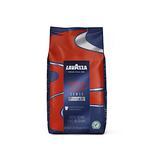 Lavazza Top Class Filtro Coffee Beans 1kg (6 Bags) from Lavazza