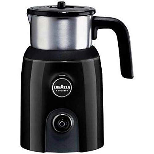 Lavazza A Modo Mio Milk Up Frother, Stainless Steel Container, Black from Lavazza