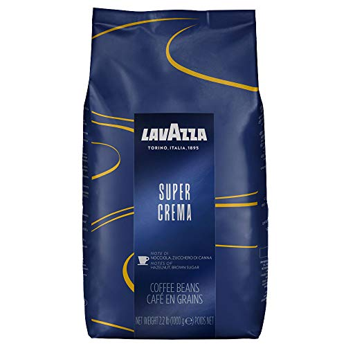 Lavazza Super Crema Coffee Beans 1kg x 3 + 50 Lotus Biscuits Value Pack (3 Bags + 50 Biscuits) from Lavazza