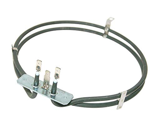 LAZER ELECTRICS 2 Turn Heater Element for Caple, CDA, Delonghi, Kenwood Oven Cookers (1900W) from LAZER ELECTRICS