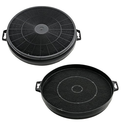 MFI Hygena APM2521 & Diplomat HJA2460 Carbon Charcoal Cooker Hood Filters 2 Pack from Lazer Electrics