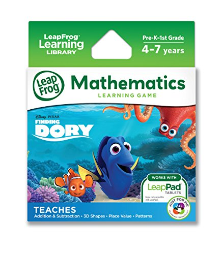 LeapFrog 39163 Disney Pixar Finding Dory Learning Game from LeapFrog