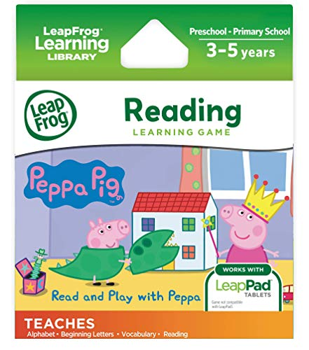 LeapFrog 490403 Leap Pad Peppa Pig Cartridge from LeapFrog