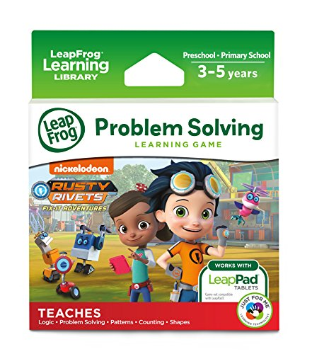 LeapFrog 490803 LeapPad Rusty Rivets Cartridge Learning Toy, Multi-Colour, One Size from LeapFrog