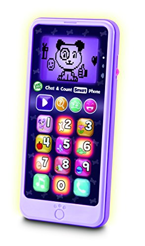 Leapfrog Chat & Count Smart Phone Violet from LeapFrog