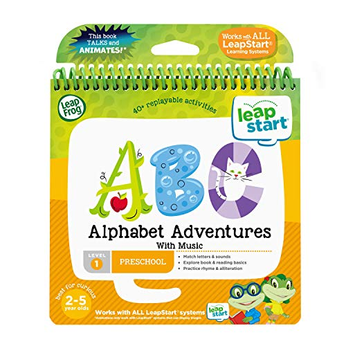 LeapFrog LeapStart Nursery Alphabet Adventures Activity Book from LeapFrog