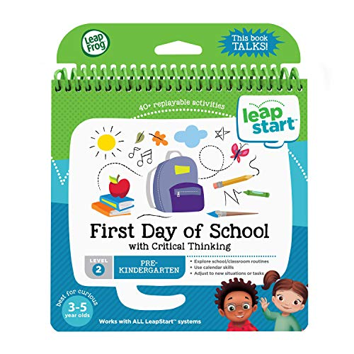LeapFrog 21512 LeapStart Preschool First Day of School and Critical Thinking Activity Book from LeapFrog