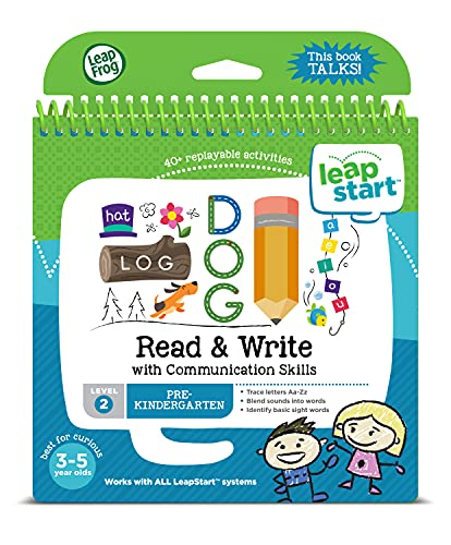 LeapFrog 21508 LeapStart Preschool Read and Write and Communication Skills Activity Book from LeapFrog