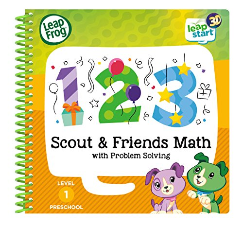 Leapstart Nursery: Scout & Friends Maths Activity Book (3D Enhanced) from LeapFrog