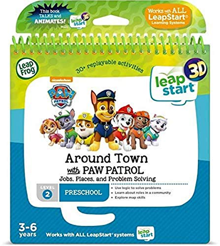 Leapstart Preschool: Around Town with Paw Patrol Activity Book (3D Enhanced) from LeapFrog
