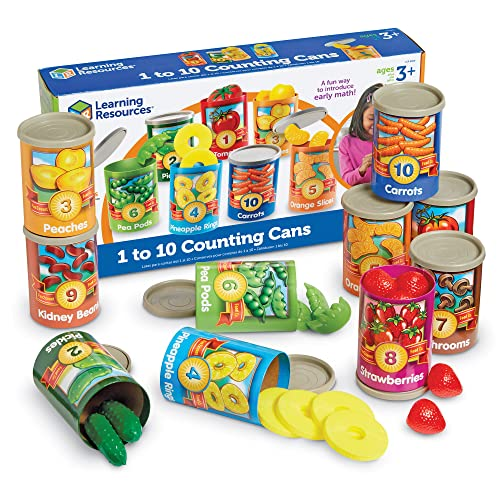 Learning Resources 1 to 10 Counting Cans from Learning Resources