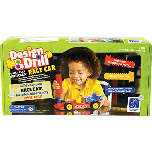 Learning Resources Design and Drill Power Play Vehicles - Race Car from Learning Resources