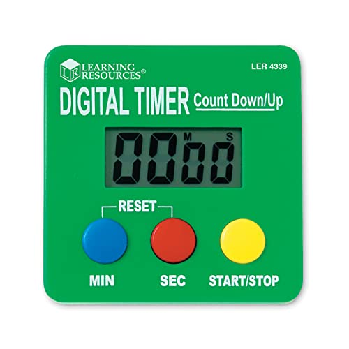 Learning Resources Digital Timer Count Down/Up from Learning Resources (UK Direct Account)
