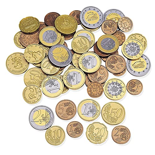 Learning Resources Euro Coins Set (Set of 100) from Learning Resources (UK Direct Account)