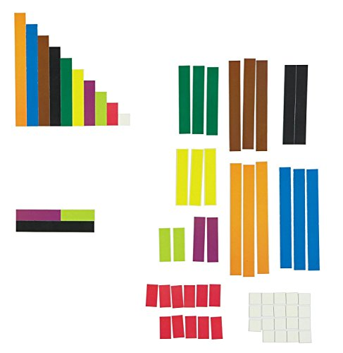 Learning Resources Giant Magnetic Cuisenaire Rods Demonstration Set from Learning Resources (UK Direct Account)