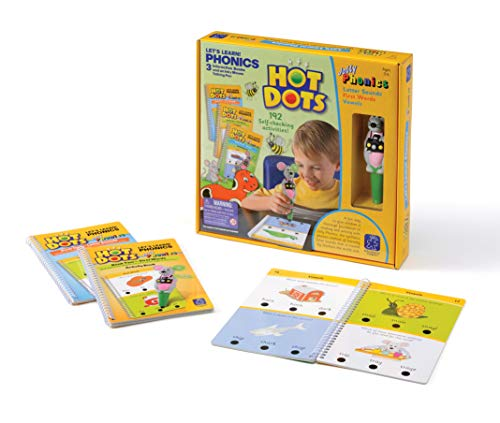 Learning Resources Hot Dots Let's Learn! Phonics from Learning Resources