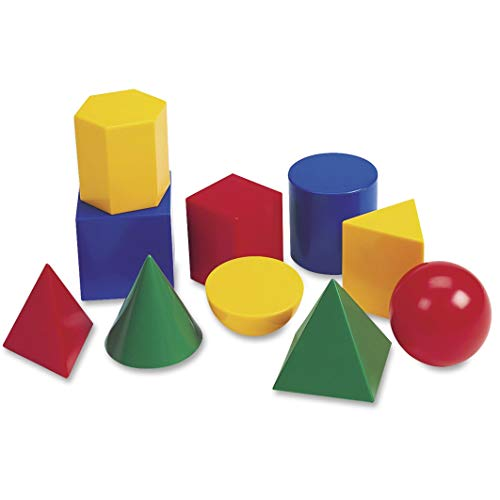Learning Resources Large Geosolids Plastic Shapes from Learning Resources (UK Direct Account)