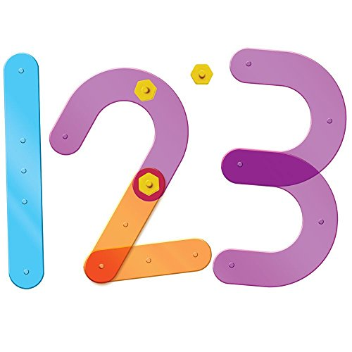 Learning Resources Number Construction, 55 Pieces from Learning Resources