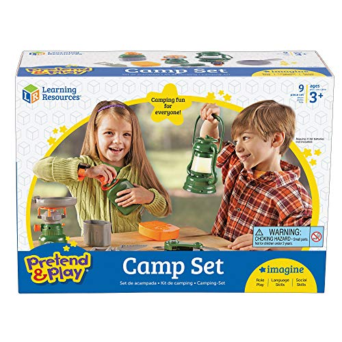 Learning Resources Pretend & Play Camp Set from Learning Resources