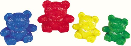Learning Resources Three Bear Family Counter Set - 4 Colours from Learning Resources (UK Direct Account)