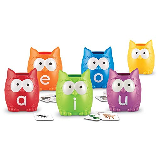 Learning Resources Vowel Owls Sorting Set from Learning Resources