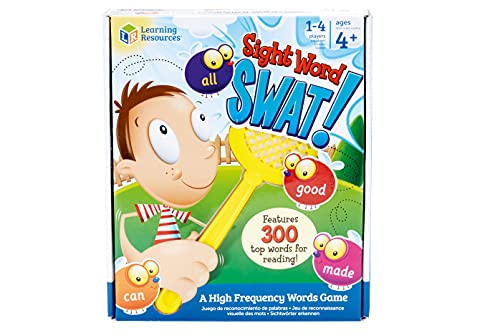 Learning Resources LSP8598-UK Sight Word Swat, Multicoloured from Learning Resources
