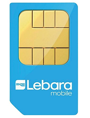 Lebara Pay As You Go Combi Sim Card With £5 Preloaded from Lebara