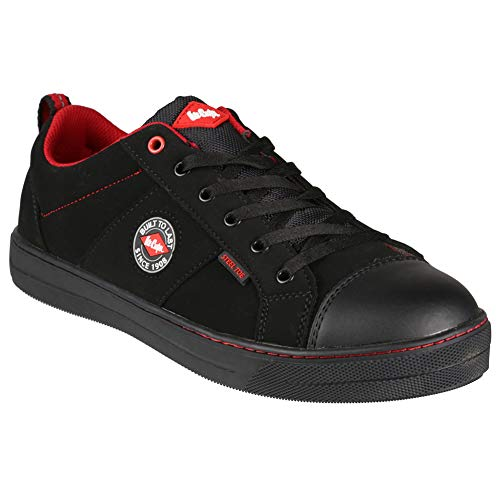 Lee Cooper Workwear 54, Unisex-Adults' Safety Shoes, Black, 6 UK from Lee Cooper Workwear