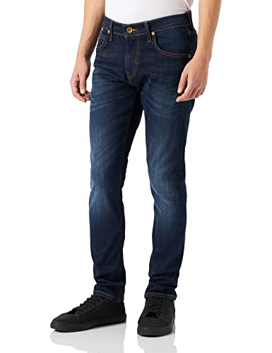 Lee Men's Luke Slim Tapered Fit Jeans, Blue (True Authentic Gcby), W33/L32 from Lee