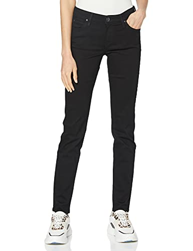 Lee Women's Scarlett Jeans, Black Rinse, 29W / 33L from Lee