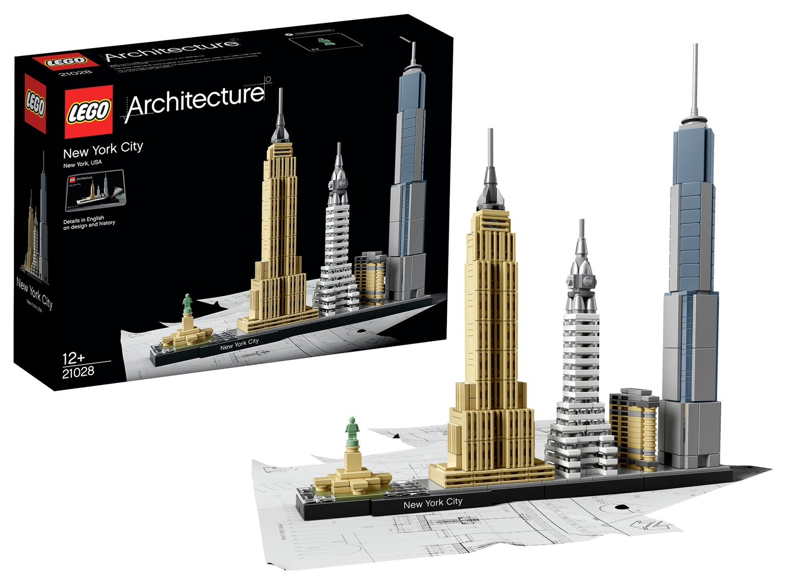 LEGO Architecture New York City - 21028 from LEGO