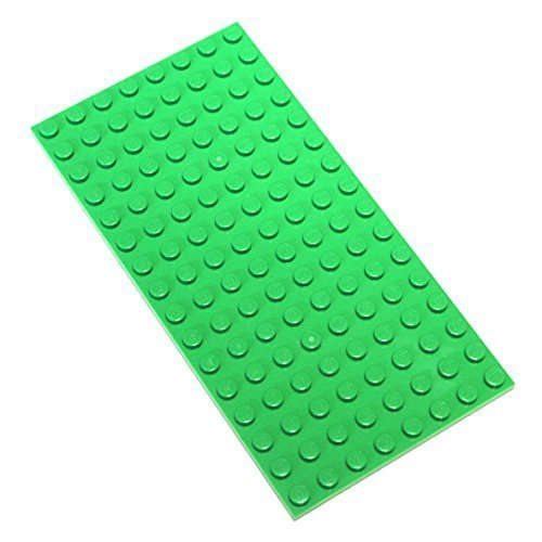 Lego Parts and Pieces: Bright Green 8x16 Plate x2 by LEGO from LEGO