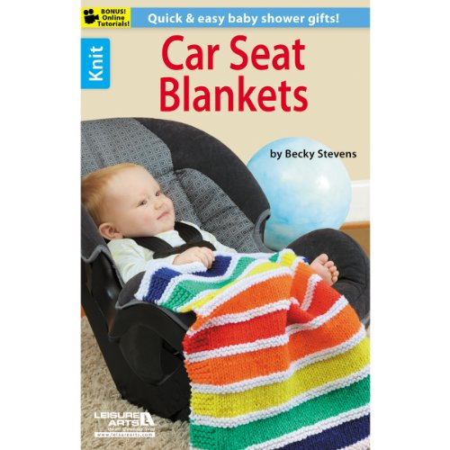 Leisure Arts Car Seat Blankets, Other, Multicoloured, 2.63 x 15.97 x 23.59 cm from Leisure Arts