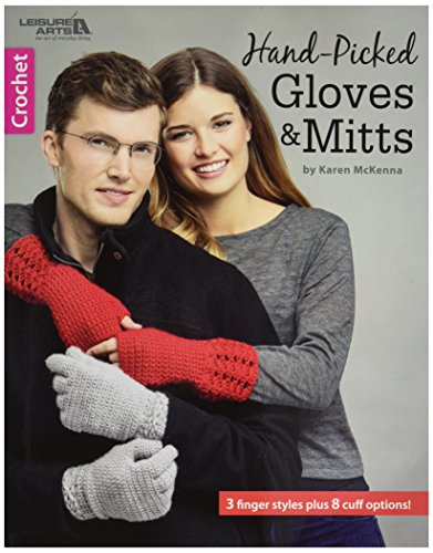 Leisure Arts Hand-Picked Gloves and Mitts, from Leisure Arts