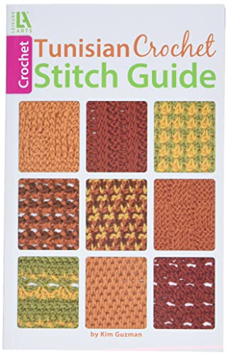 Tunisian Crochet Stitch Guide from Leisure Arts