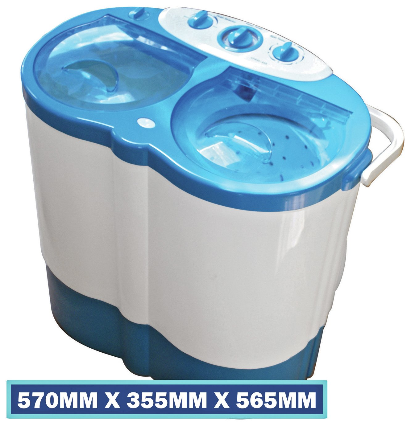 Leisurewize Twin Tub Portable Washing Machine from Leisurewize
