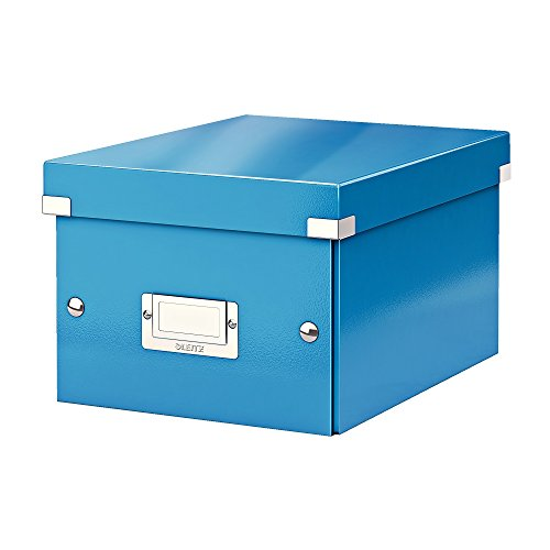 Leitz A5 Storage Box, Click and Store Range 60430036 - Small, Blue from Leitz