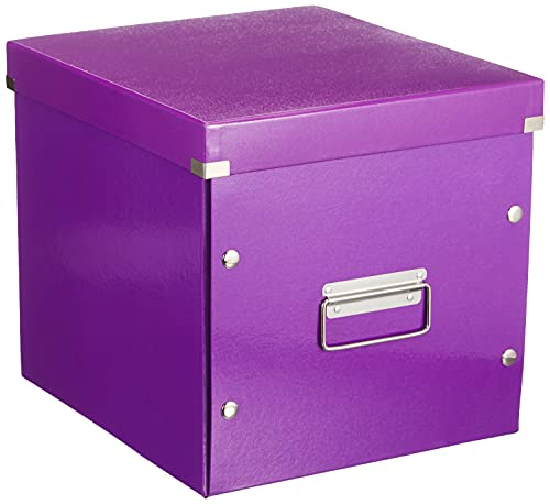 Leitz 61080062 Large Storage Cube, Purple, Click and Store Range, 61080064 from Leitz