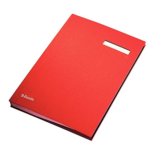 Esselte 621062 Signature Book - Red from Esselte