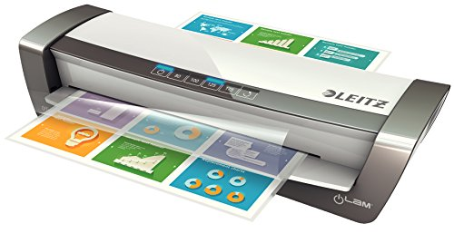 Leitz Office Pro Laminator A3, Ideal for Offices and Schools, Silver, iLAM Range, 75181084 from Leitz