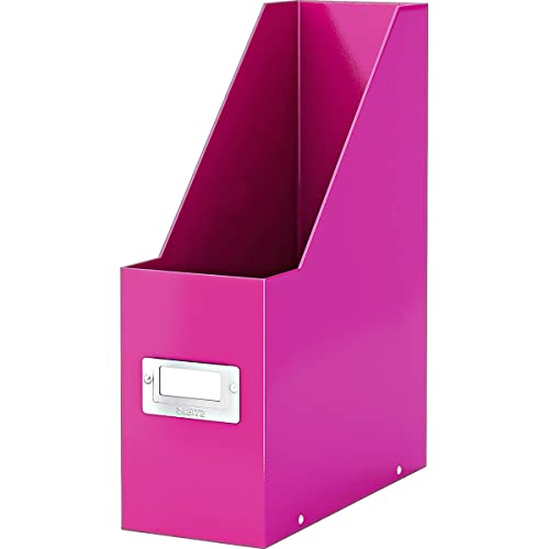 Leitz Magazine File, A4, Click and Store Range 60470023 - Pink from Leitz