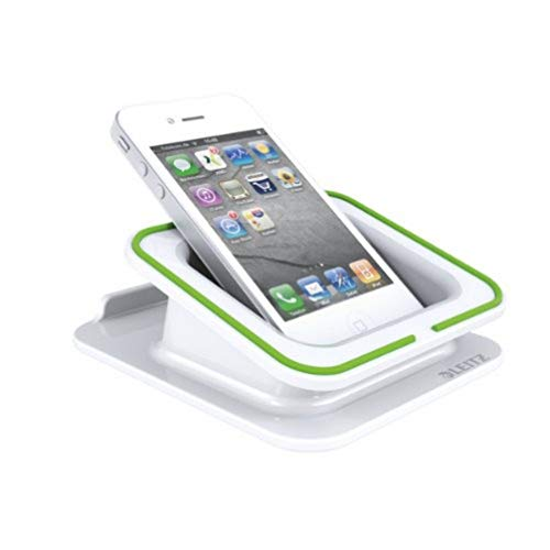 Leitz Desk Stand for Smartphone and iPad/tablet PC, Complete Range 62690001 - White from Leitz