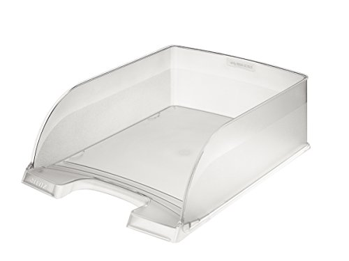 Leitz A4 Letter Tray, Jumbo, Clear, Plus Range, 52330003 from Leitz