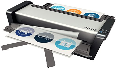 Leitz Touch Turbo Pro Laminator A3, Smart Sensor Technology, Ideal for Large Offices, Silver, iLAM Range, 75191000 from Leitz