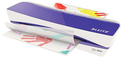 Leitz A4 Laminator, Purple, iLAM Home A4, 73660065 from Leitz
