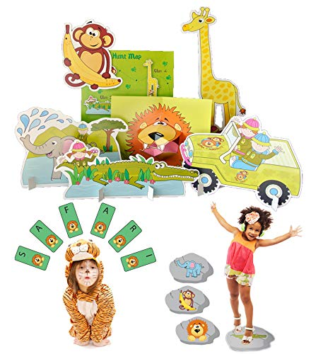 Lello & Monkey Animal Party Games for Children - Set of 3 from Lello & Monkey
