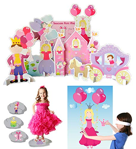 Lello & Monkey Princess Party Games - set of 3 for children from Lello & Monkey