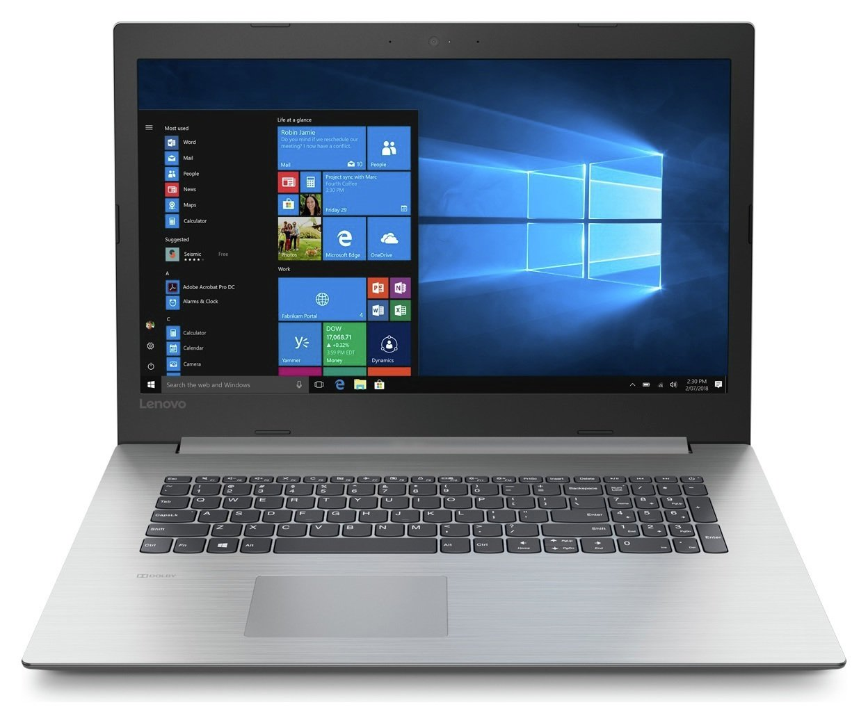 Lenovo IdeaPad 330 15.6 Inch i5 8GB 2TB Laptop - Black from Lenovo